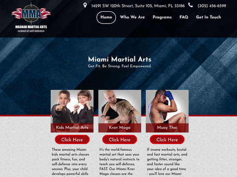Martial Arts in Miami & Kendall