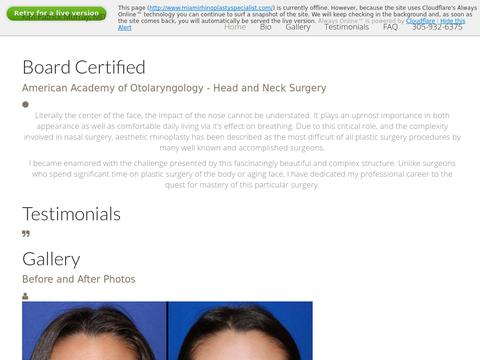 Miami Rhinoplasty Specialist