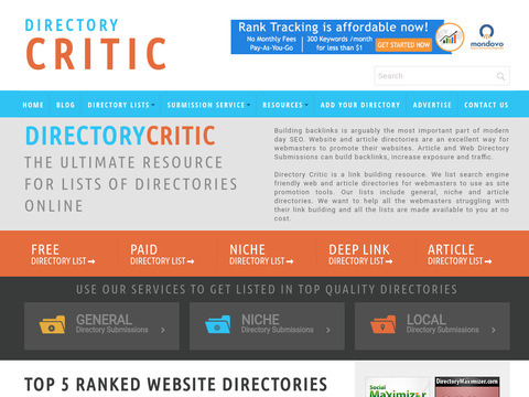 Online Directory List