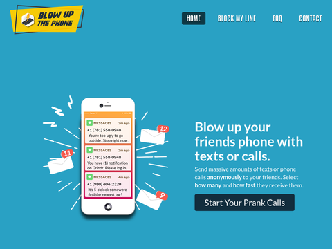 Pranks Call Text App