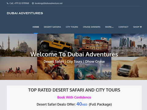 Safari in Dubai