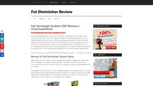 Reviews of Fat Diminisher System