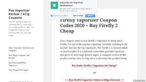 Buying firefly 2 vaporizer online